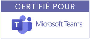 Microsoft Teams - Solution de Visioconférence