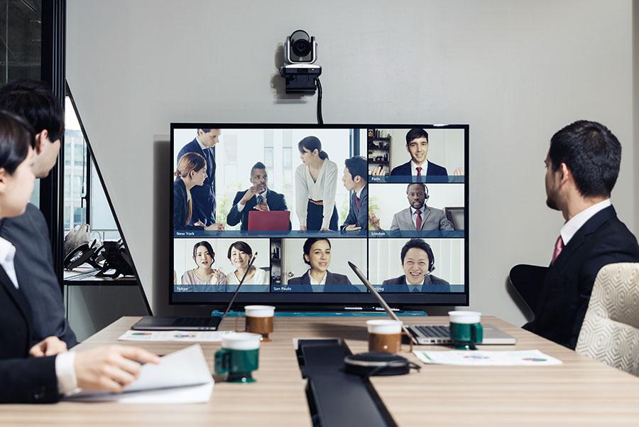 La Visioconférence - Comme au Bureau